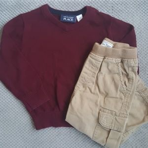 Sweater & Pant Set 2t
